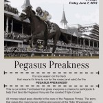 Click here to donate to Pegasus Preakness!